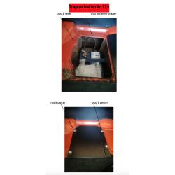 Trappe accès rapide, batterie 12 volts-MGB*
