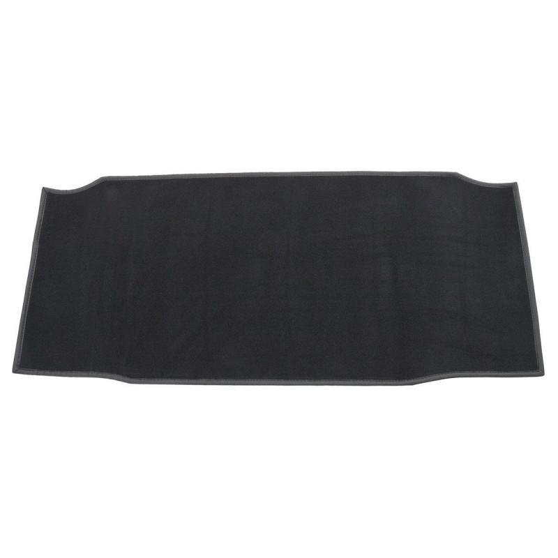 Moquette de coffre noire-TR4/4A