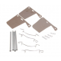 Kit fixations plaquettes de frein, 5 mm