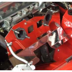 Plaque carburateur inox-MGB