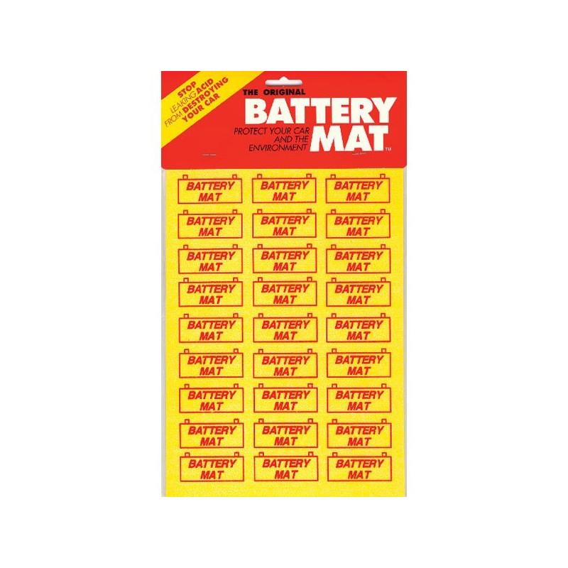 Pose batterie anti acide