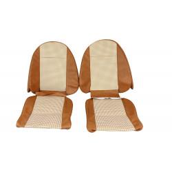 Paire de housses de siège beiges-Spitfire 1500