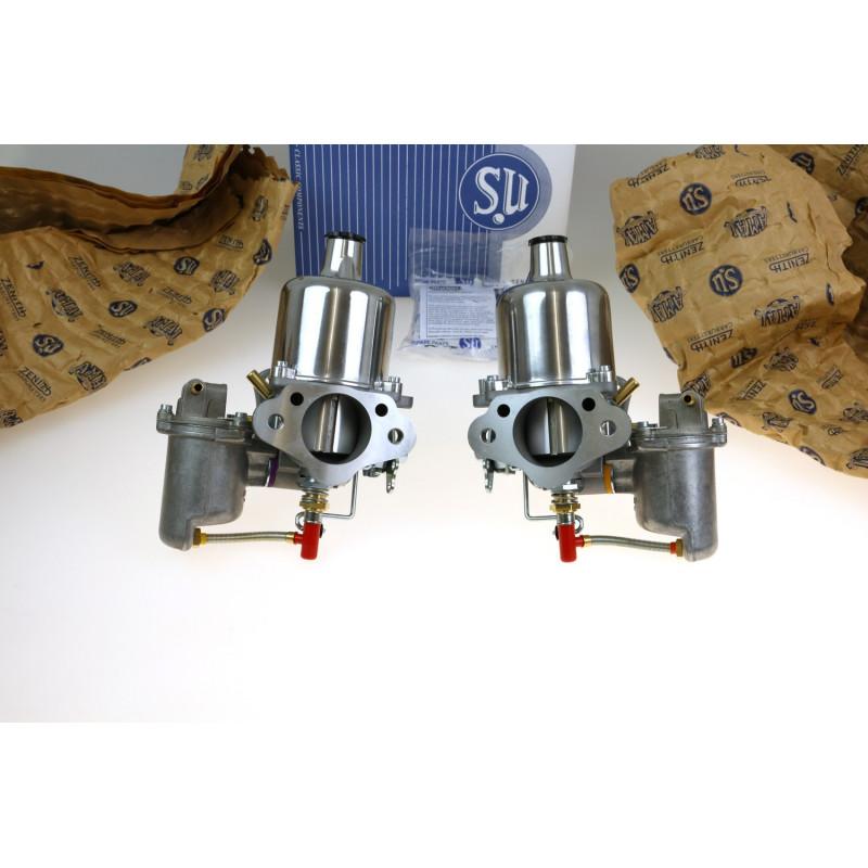 Paire carburateurs neufs HS6 TR250, TR6