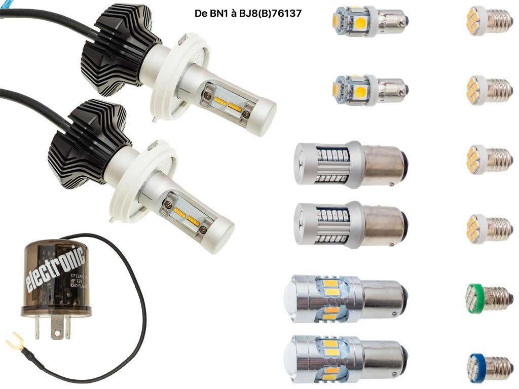 Ampoules Pour Led Kit Austin Healey D'amélioration NO8wm0nyv