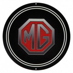 Plaque émaillée MG