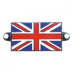 Badge union jack émaillé