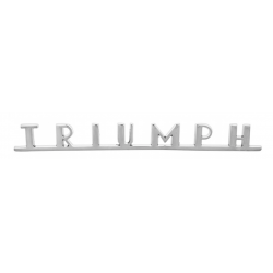 Badge TRIUMPH arrière