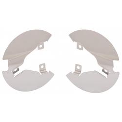 Paire de protection de disques, inox