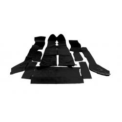 Kit moquettes noires TR7 cabriolet