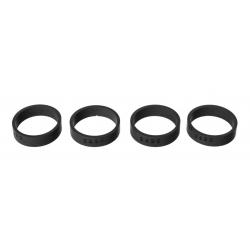 Ensemble de 8 anneaux cache poussière, TR3, TR4