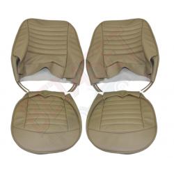Paire housses de siège,beige TR3*