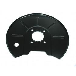 Tôle protection disque de frein gauche
