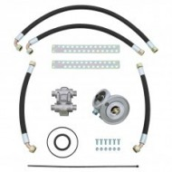 Kit montage radiateur huile avec thermostat