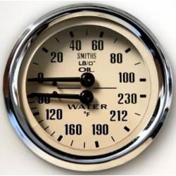 Mano pression huile/TP° eau