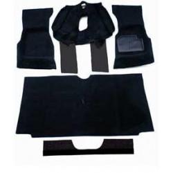 Kit moquettes noires