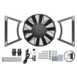 Kit ventilateur électrique haute performance-MGA négative masse
