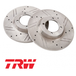 Paire de disques TRW TR4, TR250, TR5, TR6