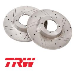 Paire de disques  performance TRW MGB