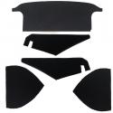 Kit garnitures noires de coffre-TR2,TR3