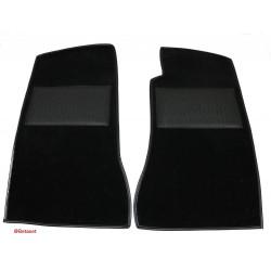 Paire tapis de sol noir-MGB 68-81