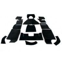 Kit moquettes noires TR2,TR3A*