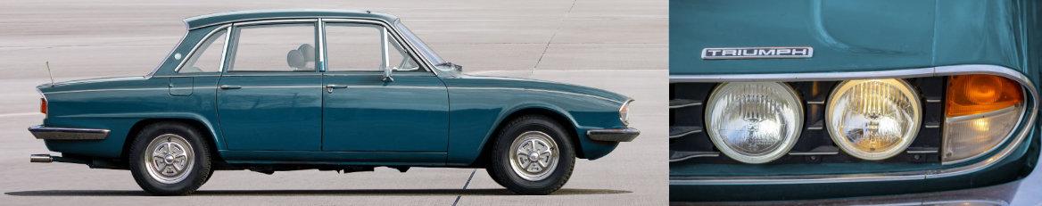 Pièces détachées pour Triumph 2000 - 2500