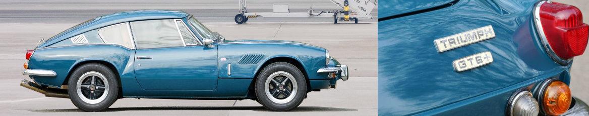Pièces détachées Triumph GT6