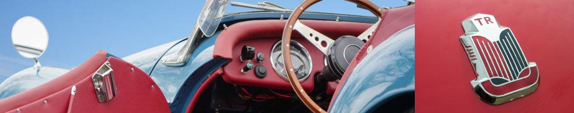 Pièces détachées Triumph TR3 - TR2 - TR4 - TR4A IRS - TR250 - TR6